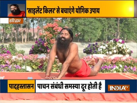 Swami Ramdev explains how hypertension can be controlled in 40 minutes