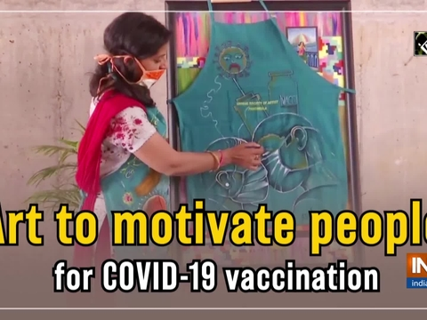 Art to motivate people for COVID-19 vaccination