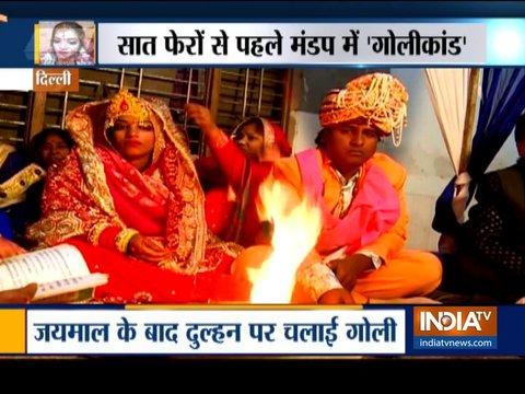 फायरिंग में घायल हुई दिल्ली की दुल्हन ने रचाई शादी