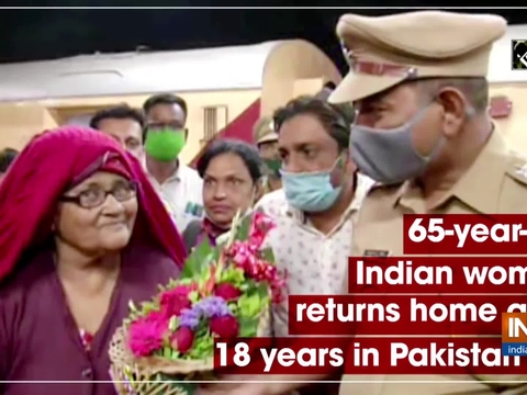 65-year-old Indian woman returns home after 18 years in Pakistan jail