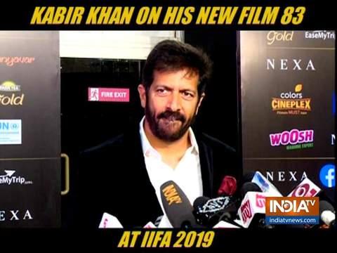 कबीर खान ने IIFA 2019 में की रणवीर सिंह की तारीफ
