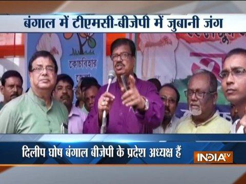 TMC, BJP spar over Dilip Ghosh's statement on Mamata Banerjee
