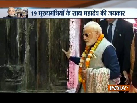 PM Narendra Modi expected to visit Kedarnath with 19 CMs on April 29