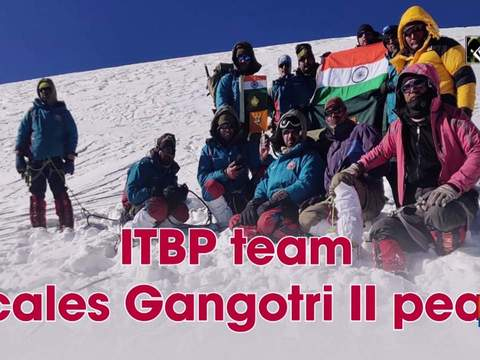 ITBP team scales Gangotri II peak