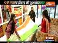 Ahead of R-Day, tricolour sarees witness high demand at Patna's Khadi Mall