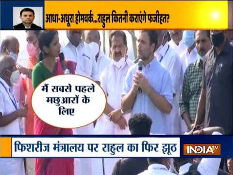 Ground report| Rahul Gandhi's remarks stir heated exchange