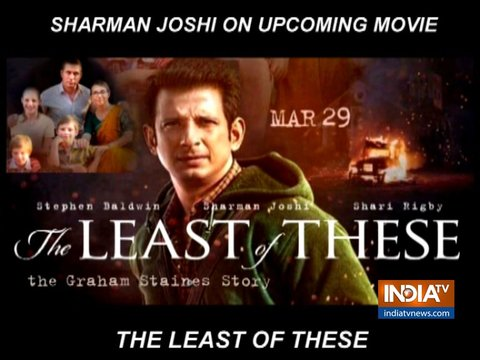 Sharman Joshi opens up about upcoming film The Least Of These: The Graham Staines Story