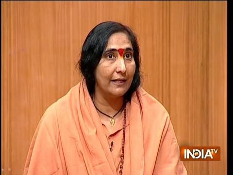 आप की अदालत: साध्वी ऋतम्भरा ने कहा- हिंदू अब अपना धैर्य खो रहे हैं, यह देश राघवेंद्र का है, बाबर का नहीं