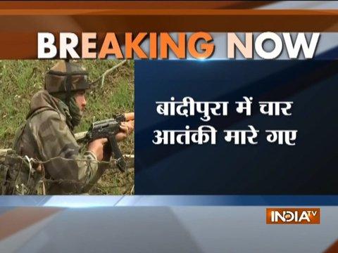 सीजफायर खत्म होते ही आतंकियों पर टूटे सुरक्षाबल, कश्मीर के बांदीपोरा में 4 आतंकी मारे गए