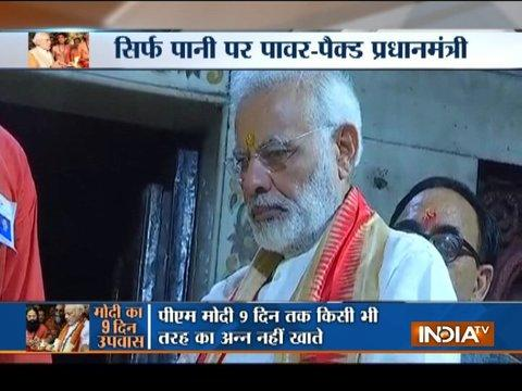 PM Narendra Modi just have fruits and water for nine days in Navratri