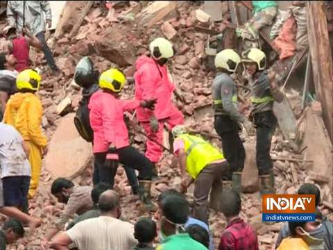2 incidents of building collapse rattle Mumbai