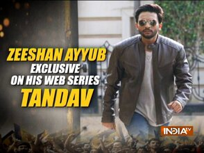 Actor Mohammed Zeeshan Ayyub talks about his character in the web series 'Tandav'