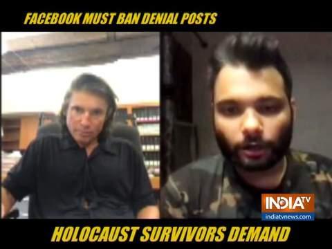 Holocaust survivors demand Facebook, other social media networks to ban denial posts