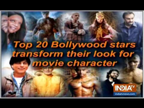 20 बॉलीवुड स्टार्स जिन्होंने फिल्मों के लिए बदला अपना लुक