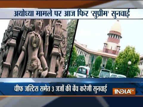 अयोध्या विवाद मामले पर सुप्रीम कोर्ट में आज होगी सुनवाई