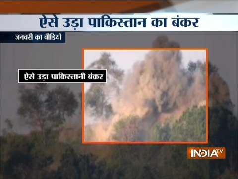 In response to Pak ceasefire violation Indian Army destroys Pak posts near LoC