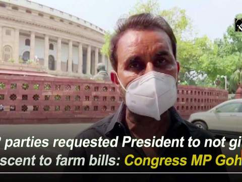 12 parties requested President to not give ascent to farm bills: Congress MP Gohil