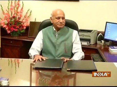 विदेश राज्य मंत्री एम जे अकबर ने इस्तीफा दिया, MeToo के तहत कई महिलाओं ने लगाया था यौन शोषण का आरोप