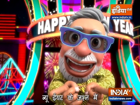 OMG: Happy New Year greetings in PM Modi's style