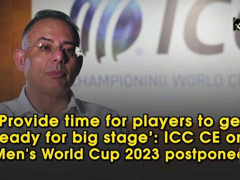 ICC CEO reveals why men's World Cup 2023 was postponed