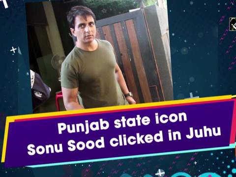 Punjab state icon Sonu Sood clicked in Juhu