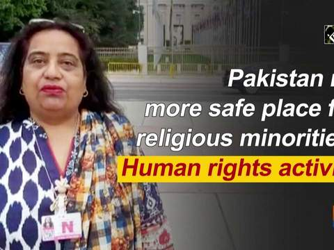 Pakistan no more safe place for religious minorities: Human rights activist