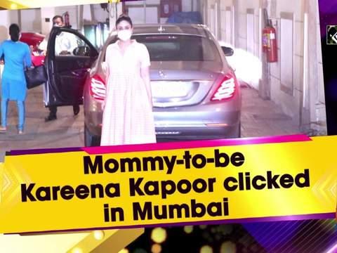 Mommy-to-be Kareena Kapoor clicked in Mumbai