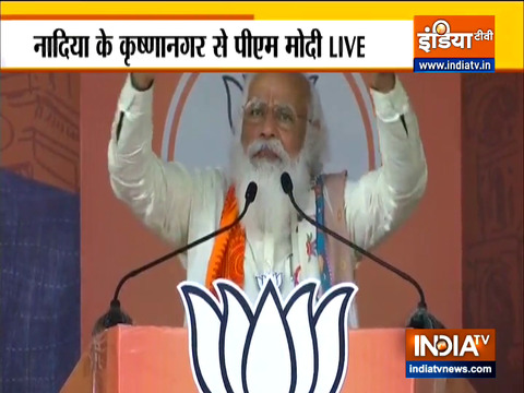 After a wait for decades, the 'mahayagya' of 'ashol poribortan' has started in Bengal: PM Modi