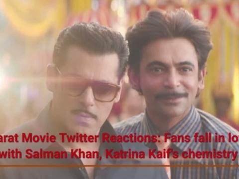Bharat Movie Twitter Reactions: Fans fall in love with Salman Khan, Katrina Kaif's chemistry