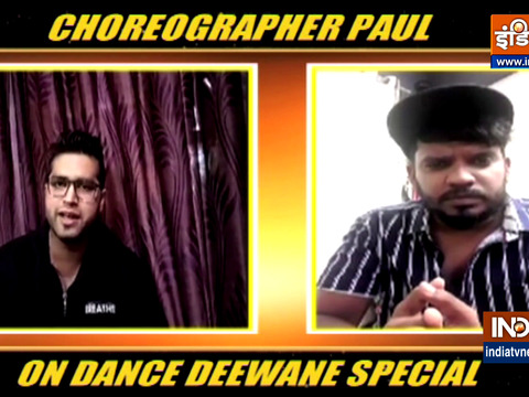 Dance Deewane 3's Paul Marshal in an EXCLUSIVE chat with India TV