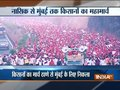 Maharashtra: All India Kisan Sabha protest march reaches Thane's Anand Nagar