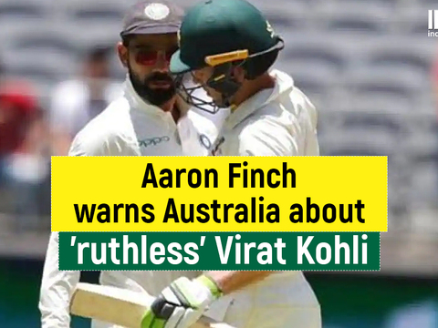 AUS vs IND: Aaron Finch warns Australia to not sledge 'ruthless' Virat Kohli in the pink-ball Test