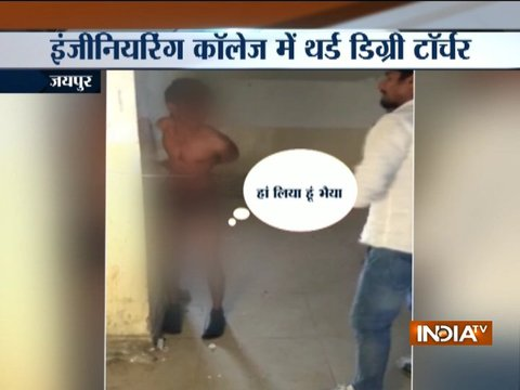 Jaipur: Engineering college student thrashes boy accused of theft