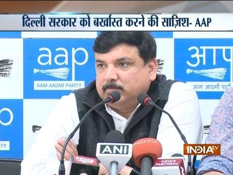 AAP dismisses medical report of Delhi Chief Secretary
