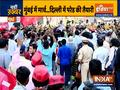 Maharashtra Police stops farmers' march from Mumbai's Azad Maidan to Governor's house