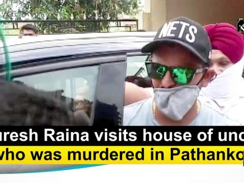 Suresh Raina visits house of uncle who was murdered in Pathankot