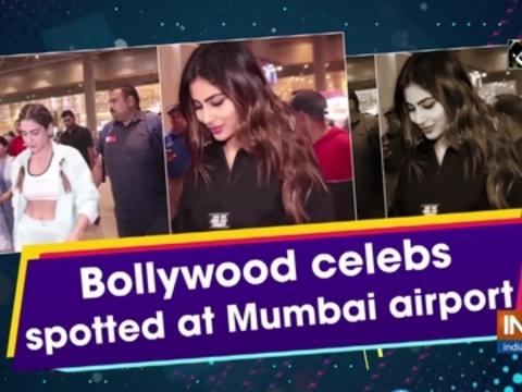 Bollywood celebs spotted at Mumbai airport