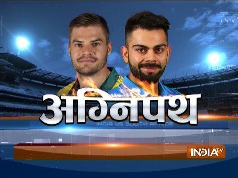 Virat Kohli gets sledged by Kagiso Rabada, replies with an unbeaten 160