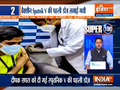Super 100: First jab of Sputnik V COVID-19 vaccine administered in India