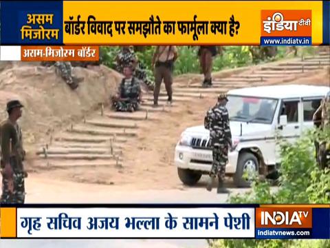 Assam-Mizoram border Clash: CRPF deployed in the disputed area