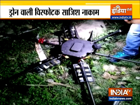 Drone carrying explosives shot down in Jammu and Kashmir's Kanachak area