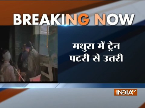 Gondwana Express derails in Mathura, none injured