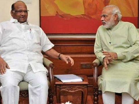 महाराष्ट्र में सरकार पर सस्पेंस के बीच आज पीएम मोदी से मिलेंगे शरद पवार