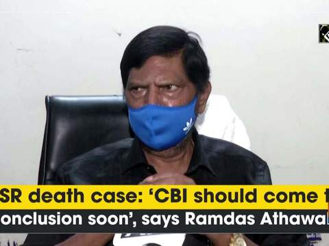 SSR death case: 'CBI should come to conclusion soon', says Ramdas Athawale