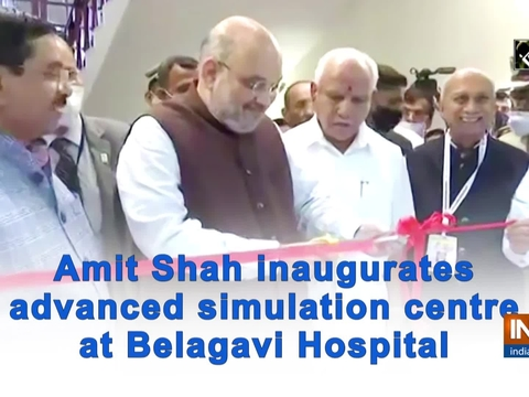 Amit Shah inaugurates advanced simulation centre at Belagavi Hospital