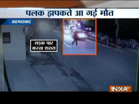 Hit-and-run: Speeding car crushes 40-year-old man in Ahmedabad