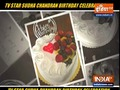 TV star Sudha Chandran celebrates birthday