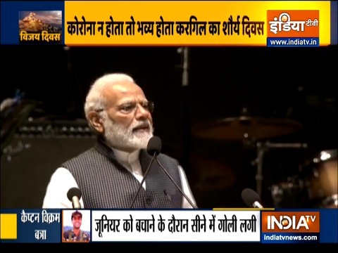 Kurukshetra: PM Modi pays tribute to Kargil warriors on Vijay Diwas