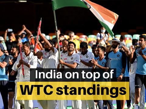 ICC टेस्ट चैंपियनशिप में फिर से नंबर वन बना भारत
