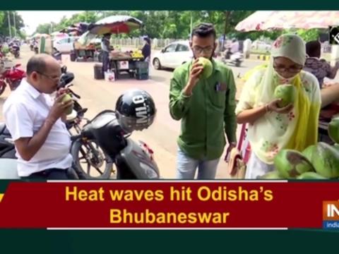 Heat waves hit Odisha's Bhubaneswar